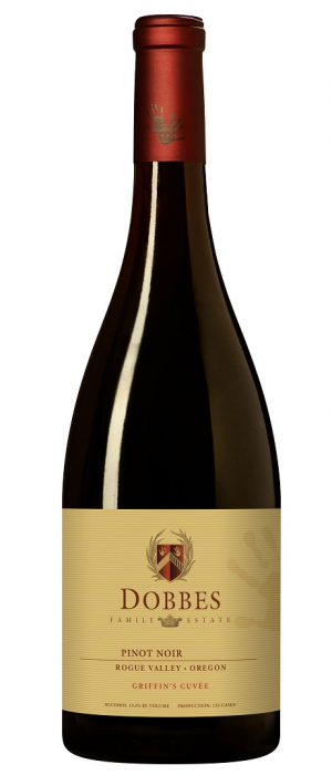 Dobbes Family Estate Griffin's Cuvée 2011 Pinot Noir Bottle