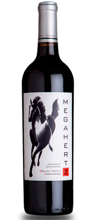 Bello Family Vineyards 2016 Megahertz Cabernet Sauvignon Bottle