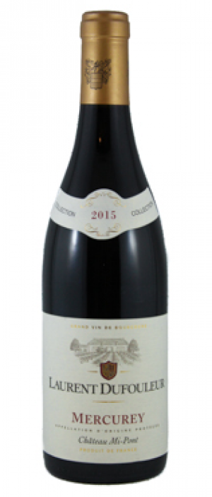 Laurent Dufouleur Mercurey Chateau Mi-Pont 2015 Bottle