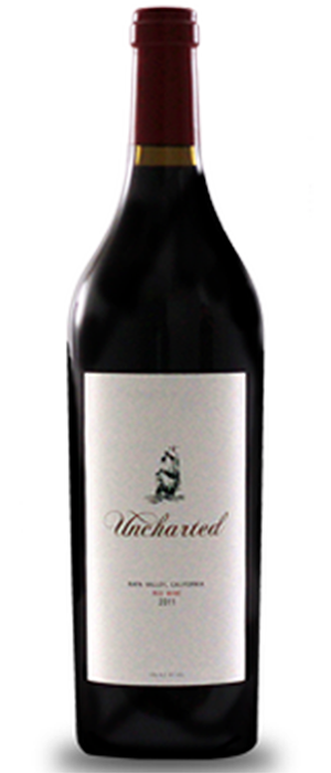 Uncharted Red Wine Bottle