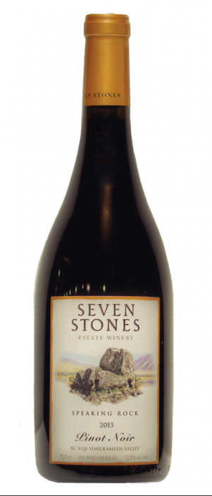 Seven Stones Winery 2013 Pinot Noir | Red Wine