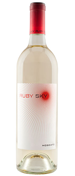 Ruby Sky Moscato Bottle