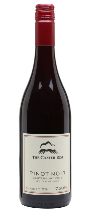 The Crater Rim 2015 Pinot Noir Bottle