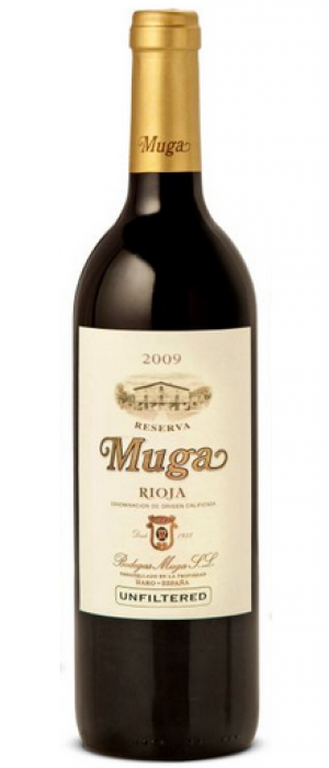 Muga 2009 Rioja Reserva Bottle