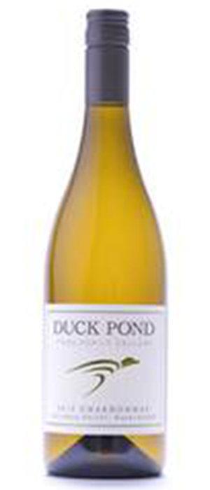 Duck Pond 2013 Chardonnay Bottle