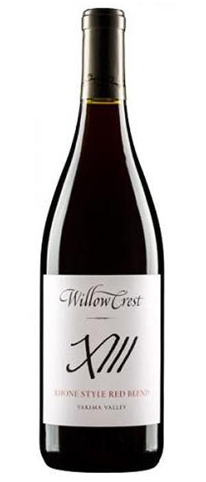 Willowcrest X111 Rhone Style Red Blend Bottle