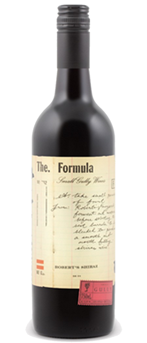 The Formula - Robert's Shiraz Bottle