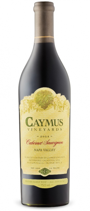 Caymus Vineyards 2015 Cabernet Sauvignon Bottle