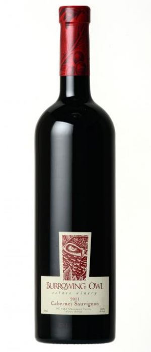 Burrowing Owl Estate Winery 2011 Cabernet Sauvignon Bottle