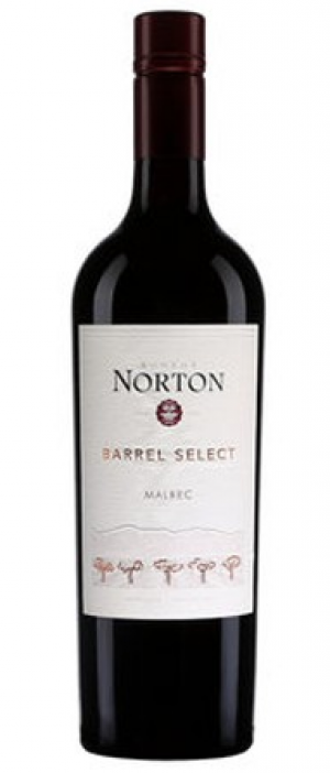 Bodega Norton Barrel Select 2015 Malbec Bottle