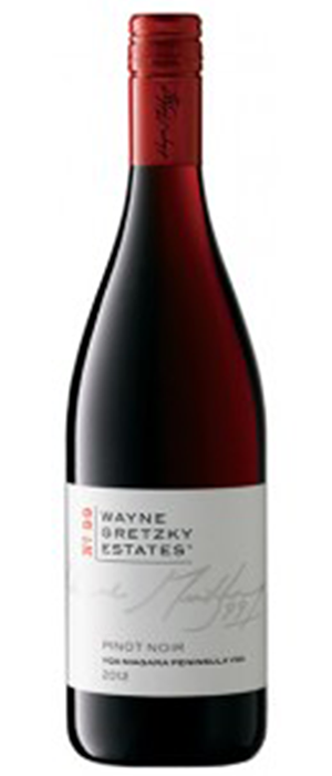 Wayne Gretzky Estates No.99 2012 Pinot Noir Bottle