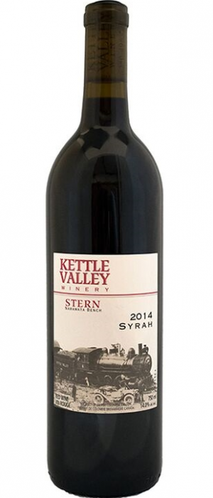 Kettle Valley Winery 2014 Stern Syrah Bottle