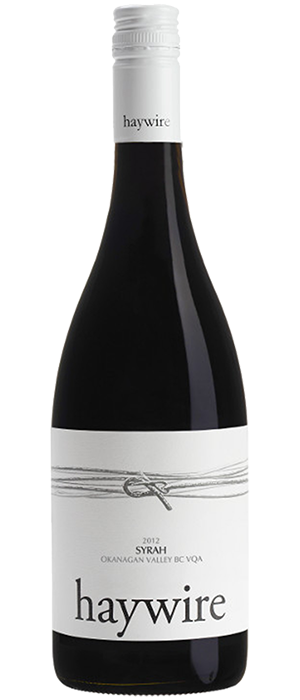 Haywire Syrah Bottle