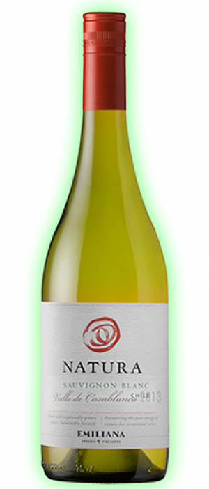 Emiliana Natura 2014 Sauvignon Blanc Bottle