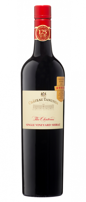Chateau Tanunda 2016 'The Château' Single Vineyard Shiraz Bottle