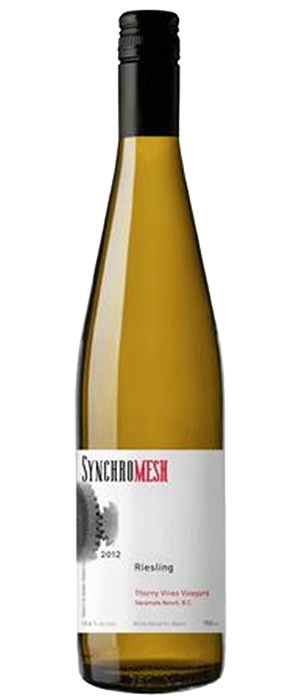 Synchromesh Wines 2012 Riesling Bottle