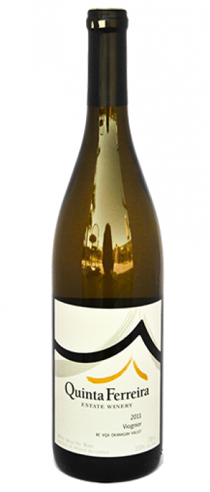 Quinta Ferreira Estate Winery 2015 Viognier Bottle