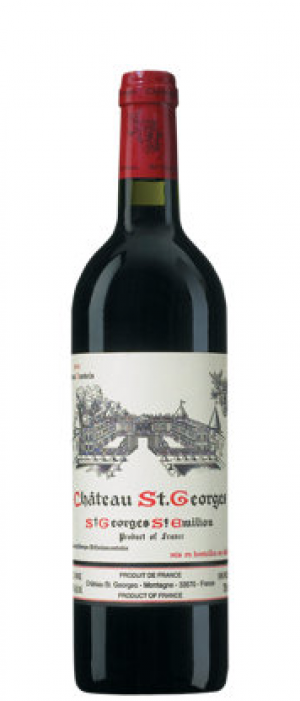 Château St. Georges 2009 Merlot blend Bottle