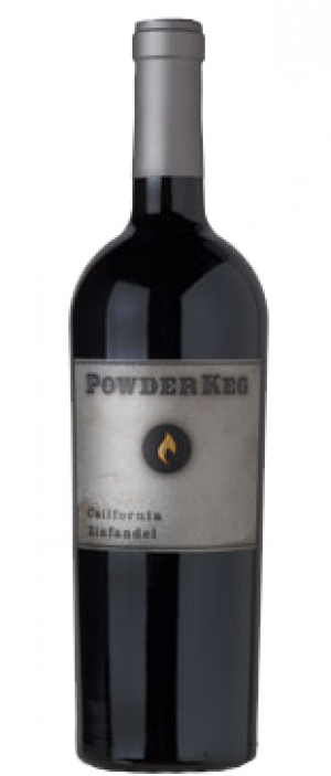 Powder Keg California Zinfandel Bottle