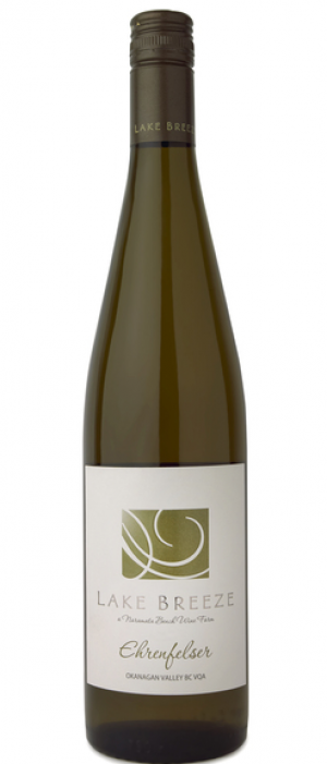 Lake Breeze Vineyards 2015 Ehrenfelser Bottle