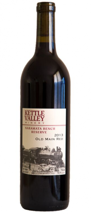 Kettle Valley Winery 2013 Old Main Red Bottle