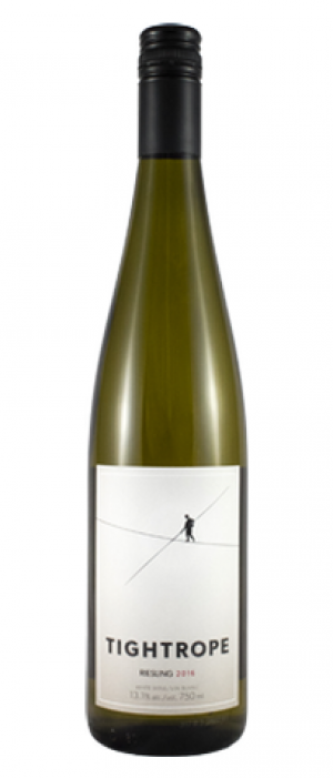 Tightrope Winery 2016 Riesling Bottle