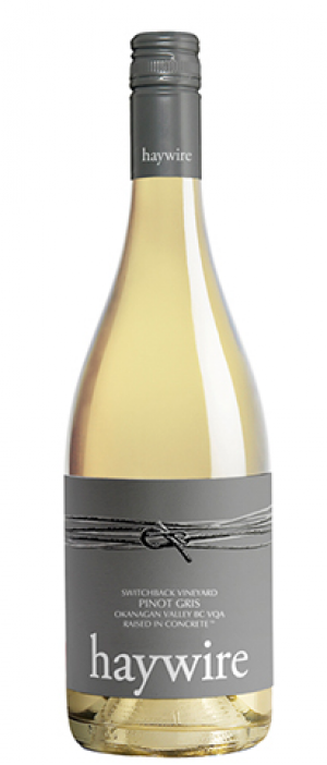 Okanagan Crush Pad 2016 Switchback Organic Pinot Gris Bottle