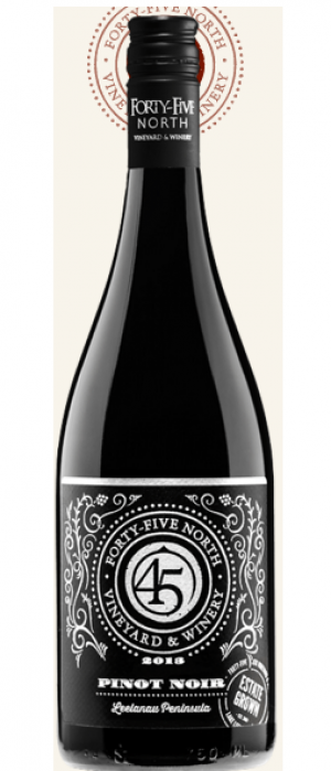 45 North Vineyard and Winery 2013 Pinot Noir | Red Wine