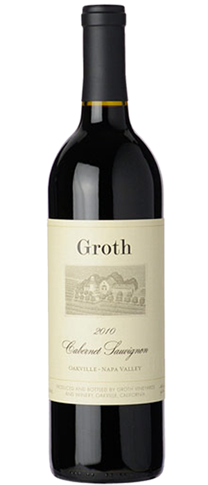 Groth 2010 Cabernet Sauvignon Bottle