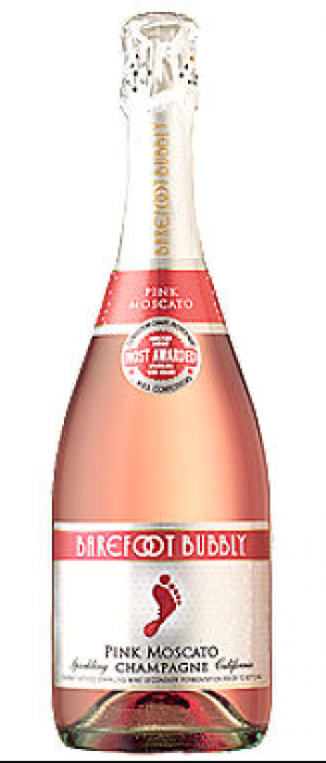 Barefoot Bubbly Pink Moscato | Rosé Wine