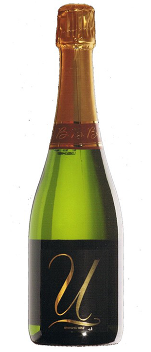 Chateau Gamage 2011 'U' Sparkling Bottle