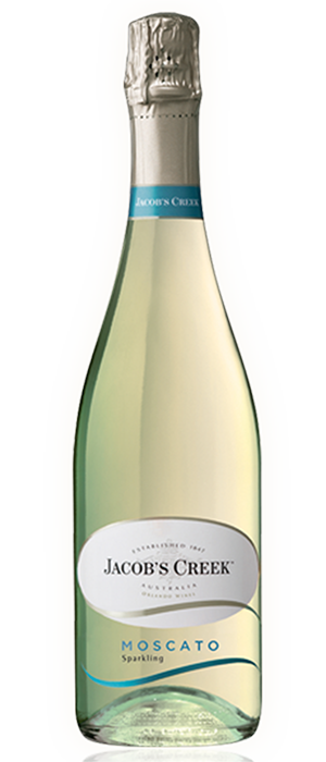 Sparkling Moscato White Bottle