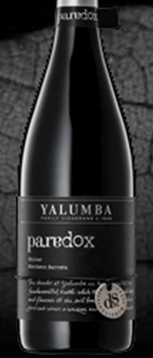Distinguished Sites Paradox Shiraz Bottle