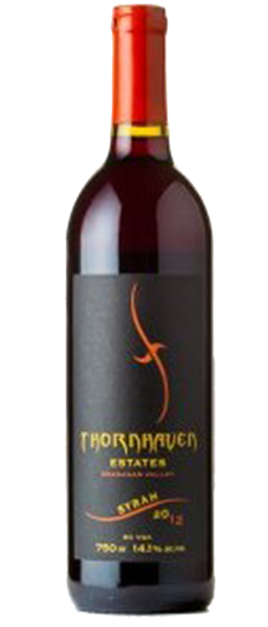 Thornhaven Estates Winery 2012 Syrah (Shiraz) Bottle