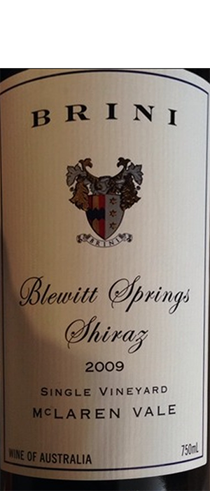 Blewitt Springs | Red Wine