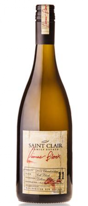 Saint Clair Family Estate Pioneer Block 11 Cell Block Chardonnay 2016 Bottle