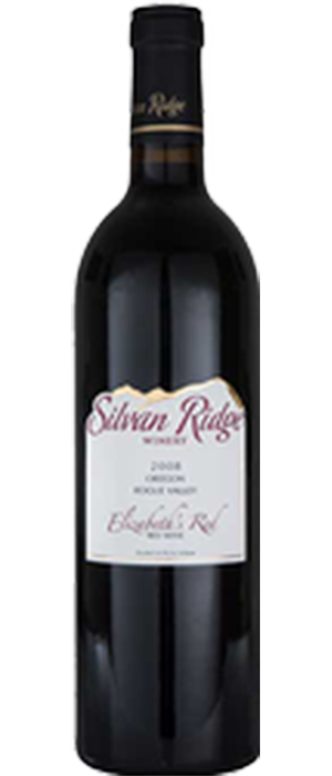 Silvan Ridge 2009 Elizabeth's Red Bottle