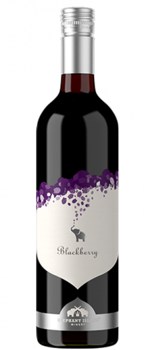 Elephant Island Orchard Wines 2017 Blackberries Bottle