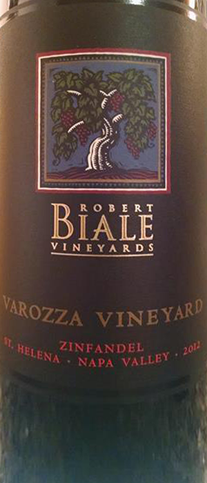 Varozza Vineyard Zin Bottle
