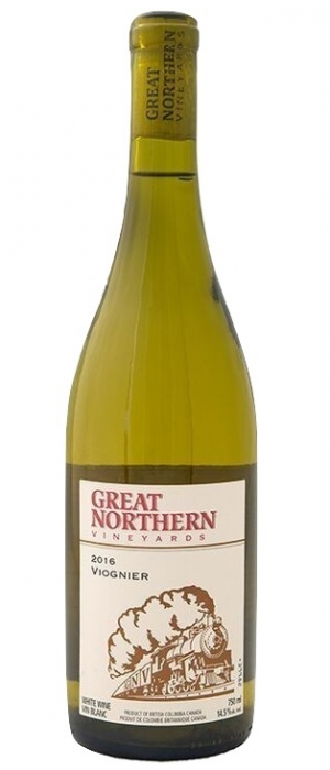 Kettle Valley Winery 2016 Great Norther Vineyards Viognier Bottle