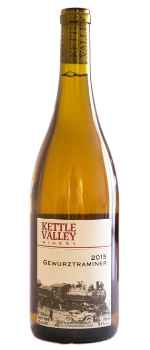 Kettle Valley Winery 2016 Gewürztraminer Bottle