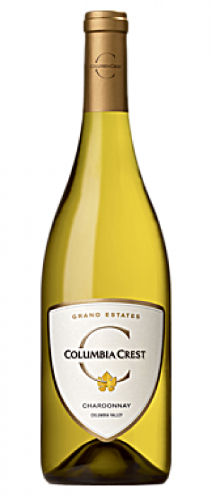 Columbia Crest Grand Estates 2014 Chardonnay Bottle