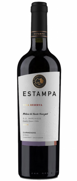Estampa Fina Reserva 2014 Carménère | Red Wine
