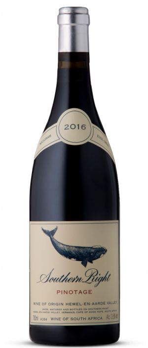 Southern Right 2016 Pinotage Bottle