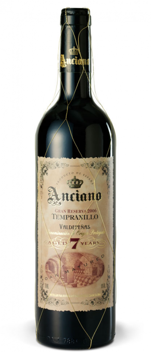 Anciano 2006 Gran Reserva 7 Years Bottle