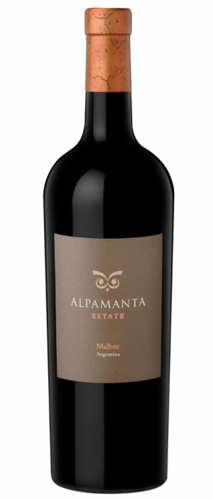 Alpamanta Estate 2010 Malbec Bottle
