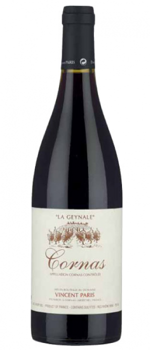 Domaine Vincent Paris Cornas La Geynale 2015 Bottle