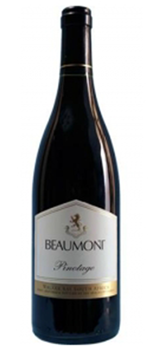 Beaumont Family Estate Winery 2010 Pinotage Bottle