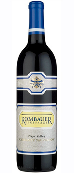 Rombauer Vineyards 2012 Cabernet Sauvignon Bottle