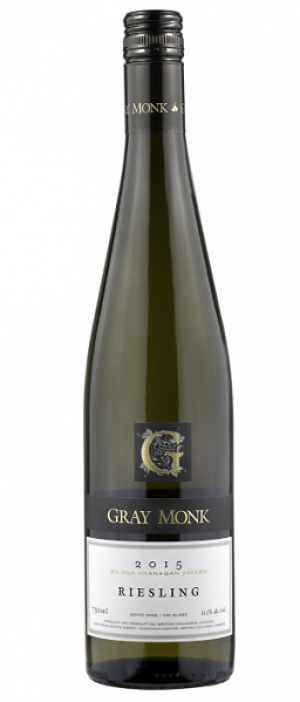 Gray Monk Estate Winery 2015 Riesling Bottle